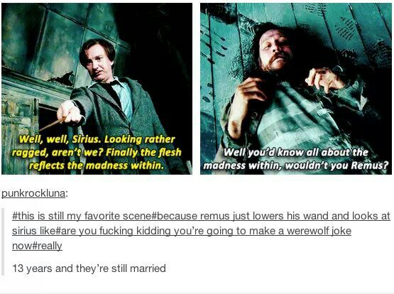 I live this so much; because the banter feels so spot on even though it's been years