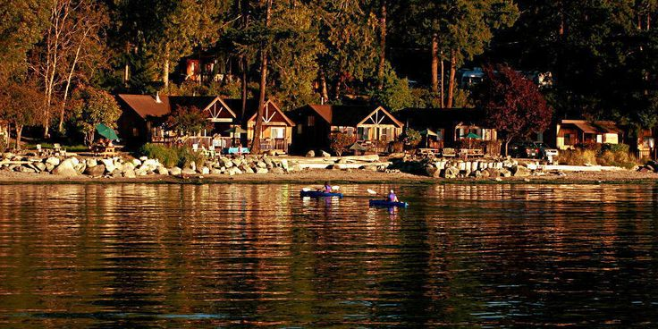 West Beach Resort San Juan Islands - VERY affordable even for a two-bedroom ocean-front cabin. Would love to do the whale-watch boat ride.