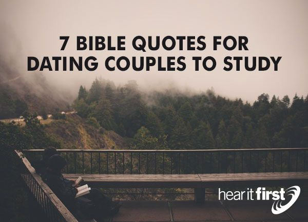 Verses about christian dating