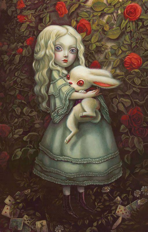 Ilustración de Benjamin Lacombe para 'Alicia en el País de las Maravillas'                                                                                                                                                                                 Más