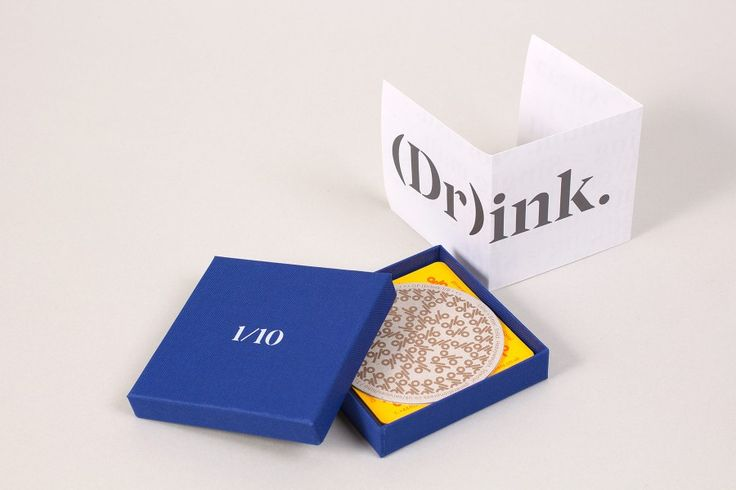 Direct Mail / Coasters designed by Build for Generation Press.