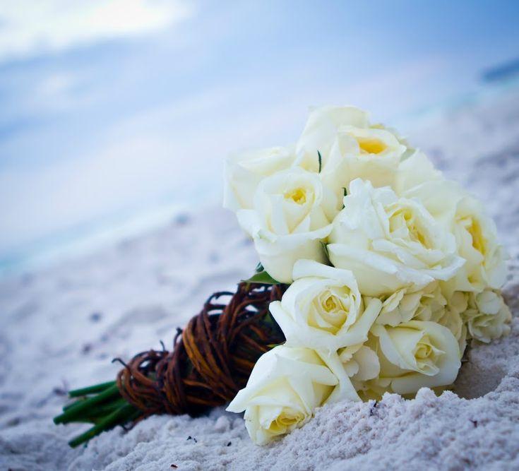 17 Best Images About Beach Bridal Bouquet On Pinterest