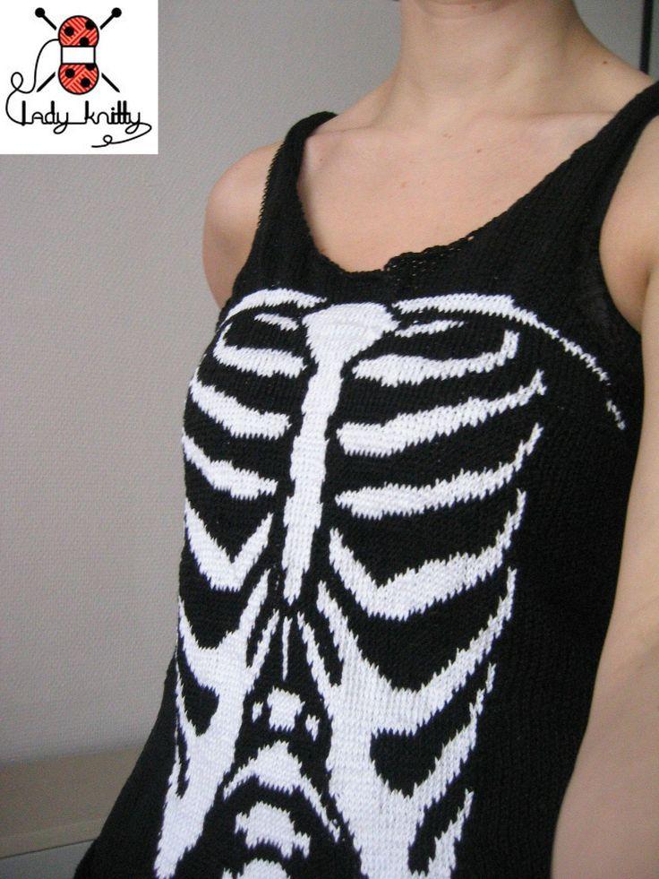 t shirt squelette
