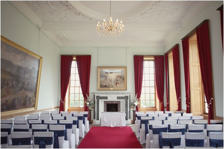 Our ballroom set for the ceremony