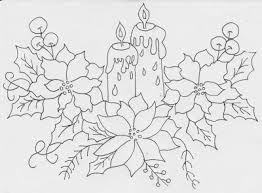 Resultado de imagen para pintura en tela navidad moldes