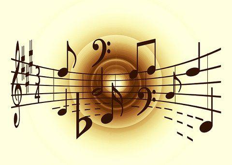 Muziek, Solsleutel, Geluid, Concert