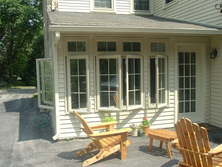 Casement Windows Enclosed Porch Pinterest Front