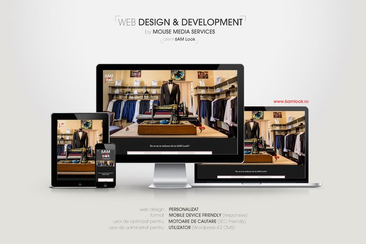 The place that dresses you up and makes tou feel great at the same time :D. Check it out at www.6amlook.ro