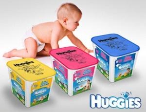 Consigue los pañales Huggies® Super-Seco a un precio único, ayudan a los más pequeños a permanecer cómodos y secos hasta 12 horas.