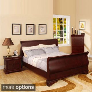 Furniture of America Bravo Smooth Transitional Sleigh Bed - 16425220 - Overstock.com Shopping - Great Deals on Furniture of America Beds