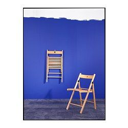 TERJE Folding chair - beech - IKEA