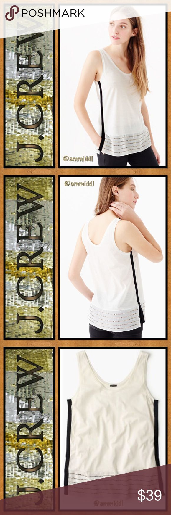 Dress up meaning -  J Crew Embellished Silk Hem Tank Top This Is Too Cute For Words