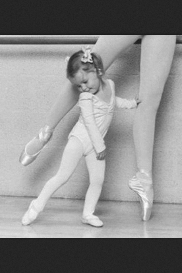 #balerina like mother like daughter