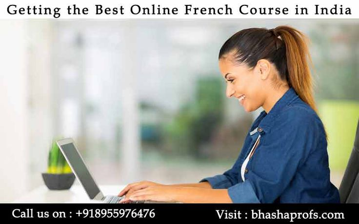 Getting the Best #OnlineFrenchCourseinIndia.Know More : http://bit.ly/2jQ8wRP