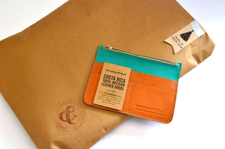 Poliwallet - Costa Rica Artisan Leather Goods - Christmas present <3