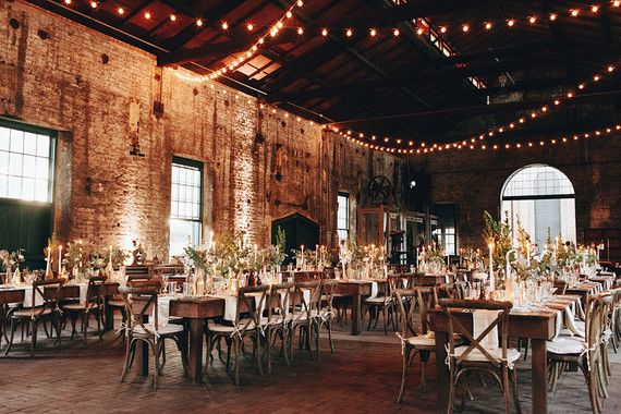 Boho warehouse wedding