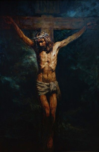 The Crucifixion 300x200 cm, oil on canvas, 2015 Anatoly Shumkin