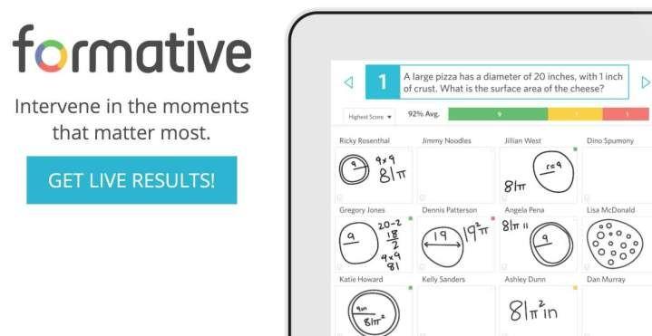 Formative. Interrogez vos élèves en ligne