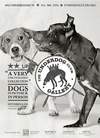 Contemporary Montreal Poster, Underdog: Uncivilized - Breslaw