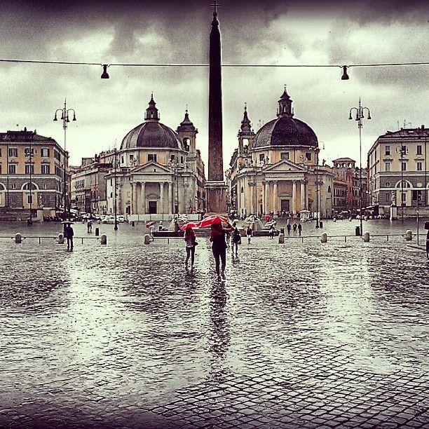 Piazza del Popolo in Roma, Lazio