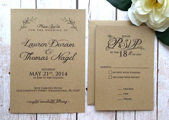 796 best rustic wedding invitations images on pinterest bridal 20 perfect fall wedding invitations junglespirit