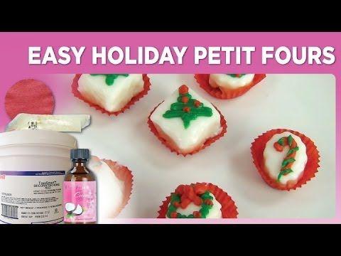 1000+ images about Petit Fours on Pinterest | Petit fours, Poured ...