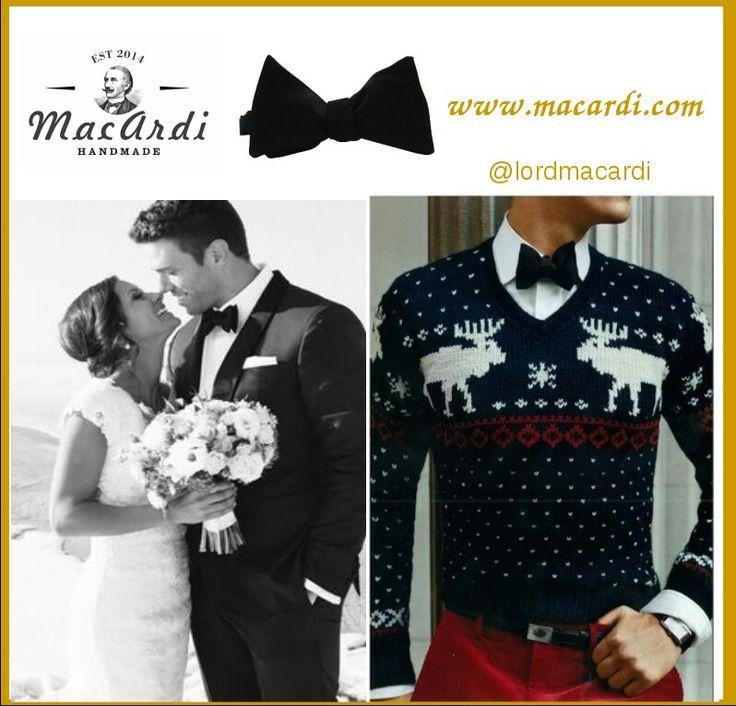 #corbatin negro para toda ocasion! www.macardi.com