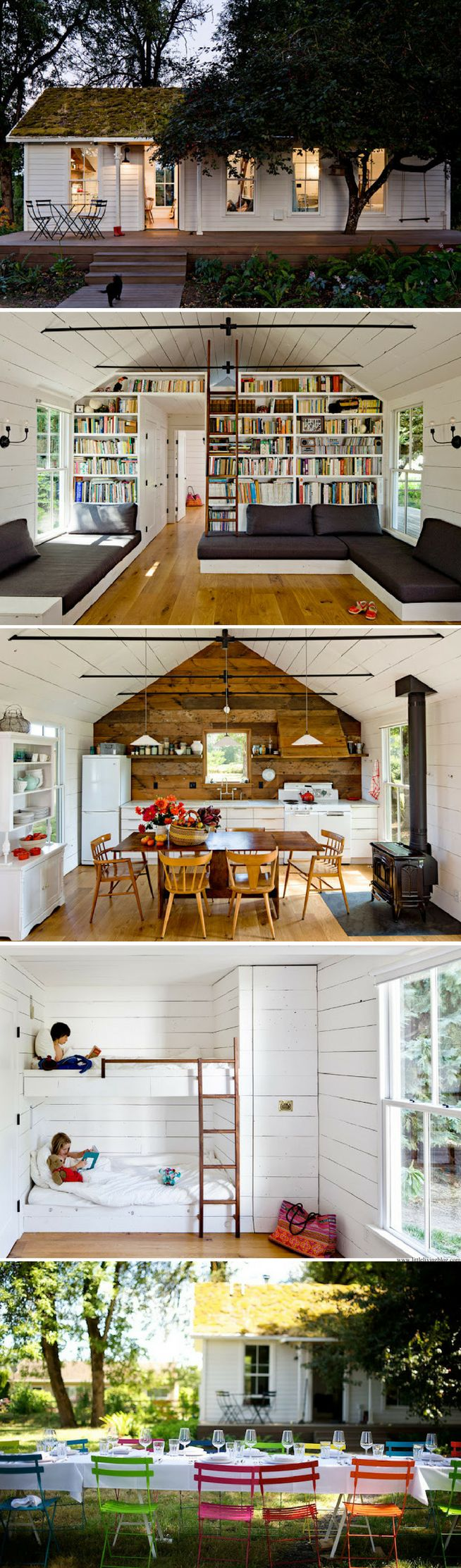 A beautiful reclaimed home in Oregon that sans just 540 sq ft!