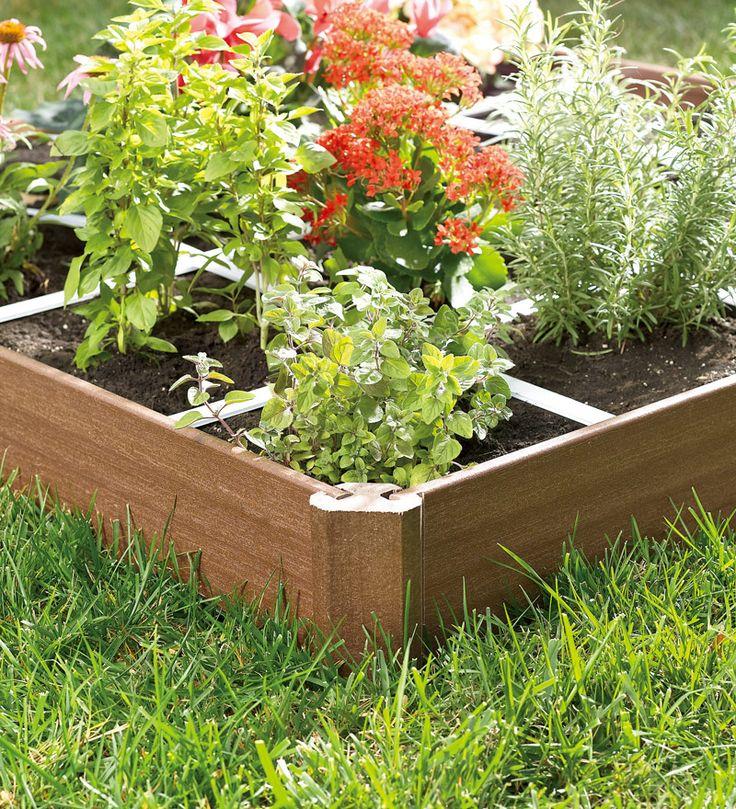 Raised Bed Grid Garden