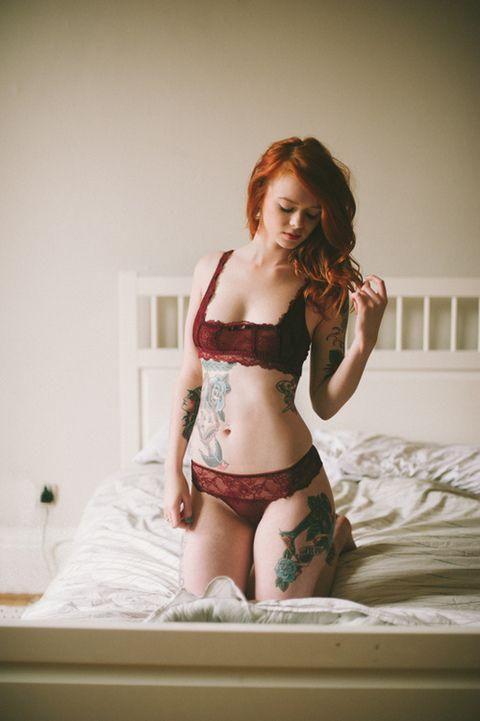 Schöne Mädchen