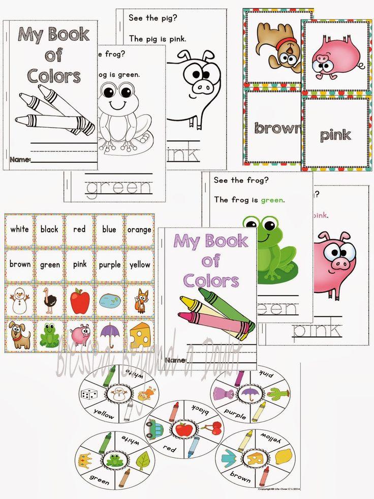 FREE Preschool/Kindergarten Color Recognition Pack and Giveaway