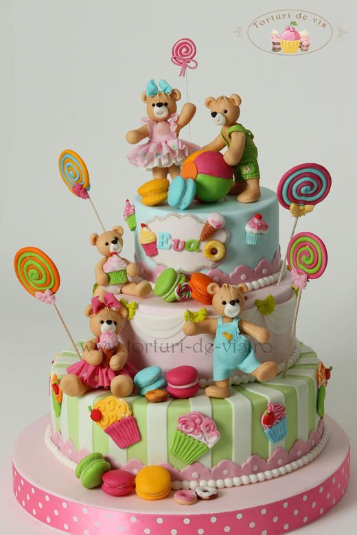 Birthday Cake Pictures For Toddlers : 1008 best images about Unique Kids Birthday Cakes on ...
