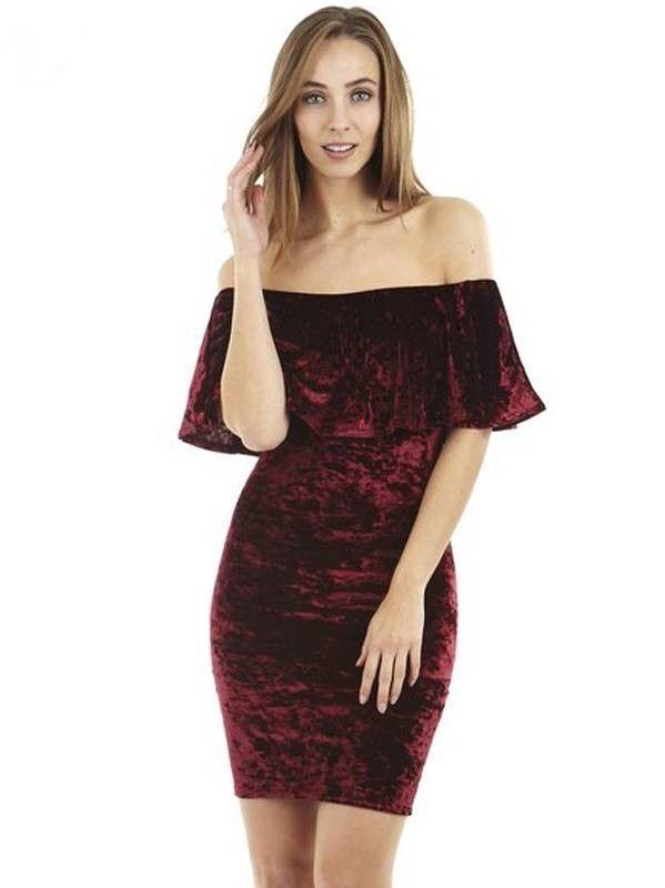 Vestido Ciganinha de Veludo - Compre Online | DMS Boutique