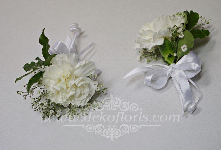 Dekoracje i bukiety ślubne - opolskie: Biały bukiet ślubny piwonie, frezje i róże Ozimek opolskie