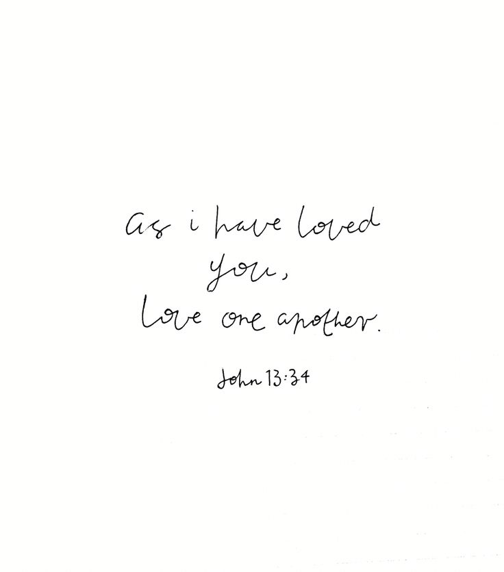 This was used in a sermon I was listening to this morning. A higher calling than to love your neighbour as yourself. We are called in a new commandment to love each other as Christ loves us. How amazing.