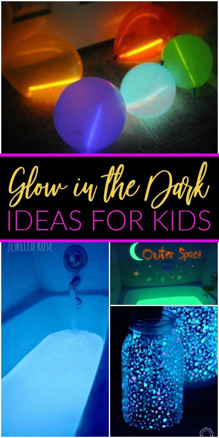 Amazing Glow in the Dark Ideas for Kids! These Ideas are FUN and PERFECT for sum… –  #amazi…