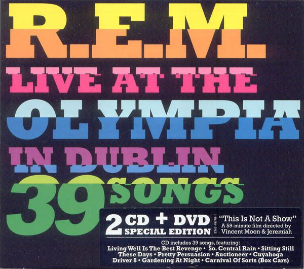 R.E.M. - Live At The Olympia In Dublin 39 Songs (CD, Album) at Discogs