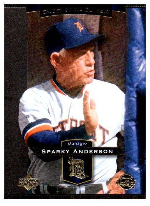2003 Upper Deck Sparky Anderson Sweet Spot Classics Detriot Tigers