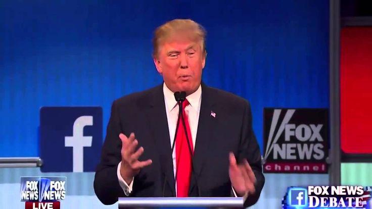 1st 2016 Presidential GOP Republican Prime Time Debate [Part 1 of 2]