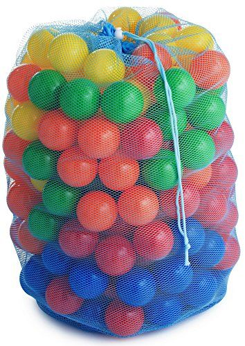 Gideon™ 100 Heavy Duty Colorful Plastic Soft Air-Filled Pit Balls for Ball Pits, Bounce Houses, Play Tents, Kiddie Pools, Pack 'n Play, Play Tents, Playhouses, etc. / Crush Proof, Commercial Grade, Phthalate Free & PVC Free Gideon http://smile.amazon.com/dp/B00YQ5P8O8/ref=cm_sw_r_pi_dp_54nJvb0QEK9WE