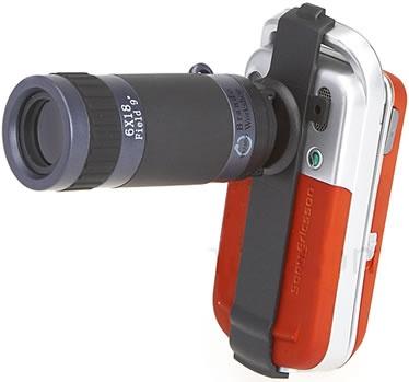 Zoom telescópico para teléfono móvil para Sony Ericsson