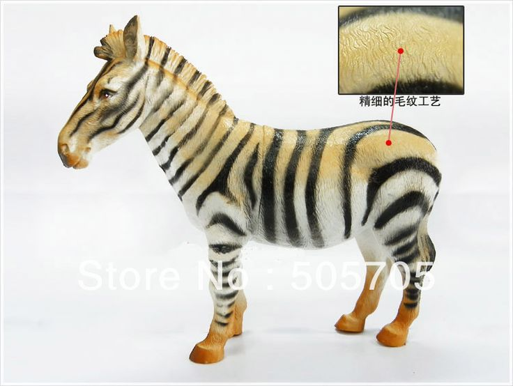 Пластик зебра модель комплект животное модель игрушки образовательный игрушки great весело дикие животное действий