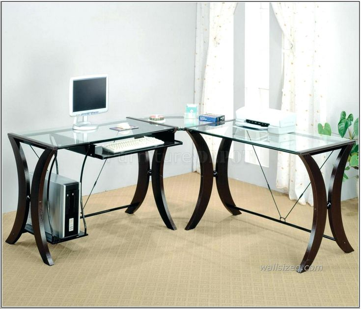 Best 25 Glass top desk ideas on Pinterest Chic desk Milk paint