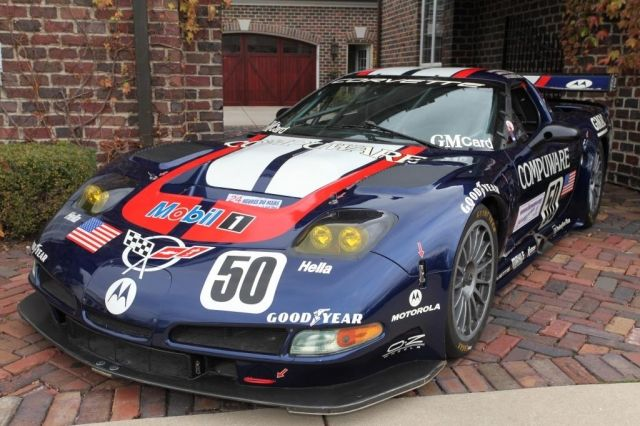 2003 .. Le Mans , entered by Corvette racing-Gary Pratt(USA) Chevrolet Corvette C5-R , driven by Gavin / Collins / Pilgrim , finished 11th o/a .
