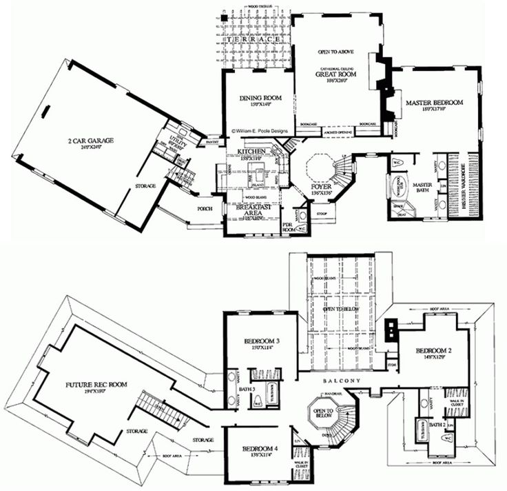 1000 images about home sweet home on pinterest 2nd Storybook cottages floor plans