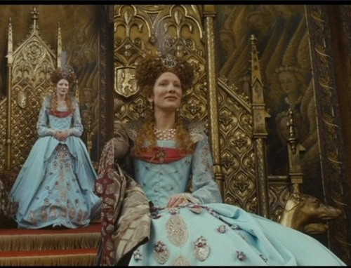queen elizabeth movie �elizabeth the golden age� blue