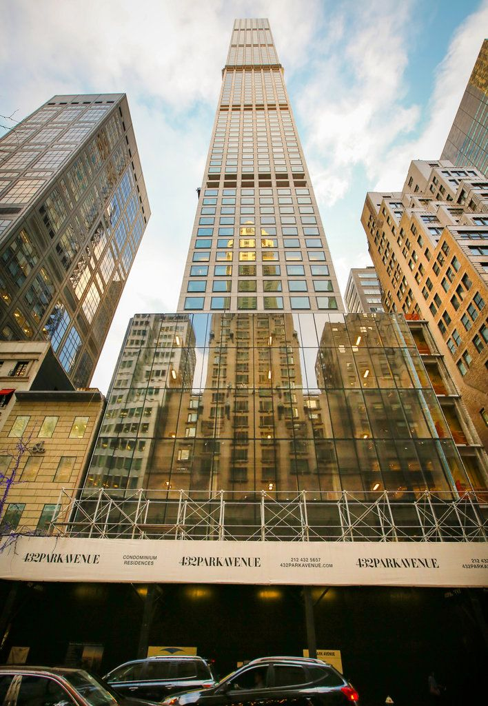 An apartment at 432 Park Avenue, currently the tallest residential tower in the Western Hemisphere, was the sale of the week.