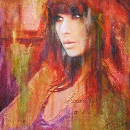 Evelyn Hamilton - kunstschilder en portretschilder: