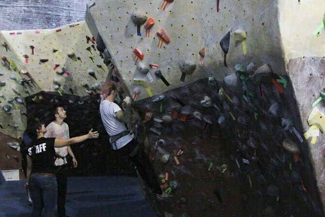 Josh Dun rock climbing ~k