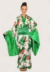 Национальный костюм японии женский